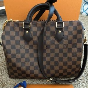 AUTHETIC Louis Vuitton Speedy Bandoulier 30